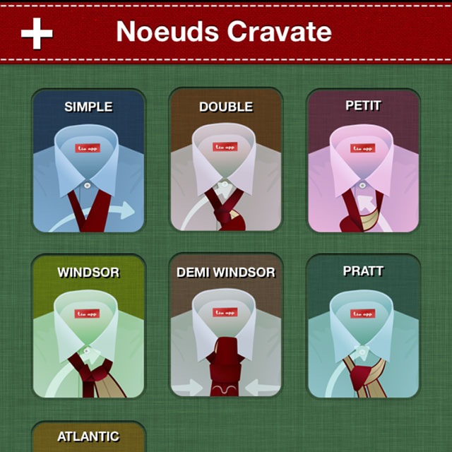 Noeud cravate