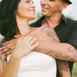 Shooting inspiration mariage rock tatouages