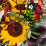 Shooting inspiration mariage rock fleurs accessoires