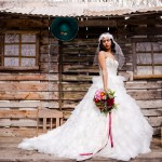 Shooting mariage mexicain fleurs
