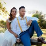Mariage Réunion Ma Régisseuse wedding planner amour mariage mariés robe bretelle nœud papillon