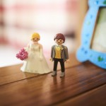 mariage, figurines,