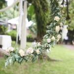 mariage, décoration, nature, fleurs