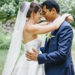 mariage, robe, costume, nature,