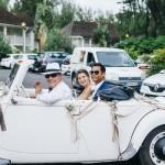 mariage, voiture, réunion,