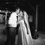 mariage, robe, réunion, bisous,