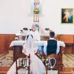 mariage, église, voile,