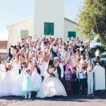 mariage, église, bisous, robe,