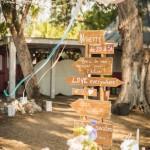 Mariage Réunion Ma Régisseuse wedding planner cérémonie laïque plage filaos panneau signalétique