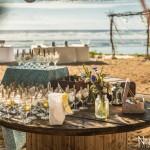 Mariage Réunion Ma Régisseuse wedding planner cérémonie laïque plage filaos fleurs décoration