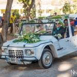 Mariage Réunion Ma Régisseuse wedding planner cérémonie laïque plage filaos méhari bouquet mariés