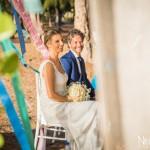 Mariage Réunion Ma Régisseuse wedding planner cérémonie laïque plage filaos bouquet happiness