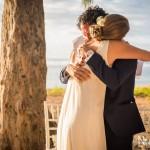 Mariage Réunion Ma Régisseuse wedding planner cérémonie laïque plage filaos love just married
