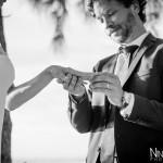 Mariage Réunion Ma Régisseuse wedding planner cérémonie laïque plage filaos alliances