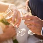 Mariage Réunion Ma Régisseuse wedding planner cérémonie laïque plage filaos champagne just married