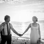 Mariage Réunion Ma Régisseuse wedding planner cérémonie laïque plage sunset coucher de soleil
