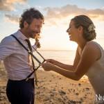 Mariage Réunion Ma Régisseuse wedding planner cérémonie laïque plage bretelles