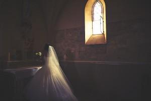 bouquet à la vierge, église