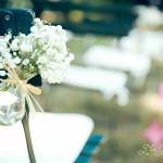 Mariage, fleurs