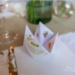 menu, cocotte en papier