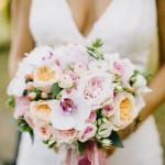 Mariage Ma Régisseuse wedding planner La Réunion bouquet rond fleurs colorées