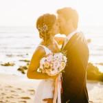Mariage Ma Régisseuse wedding planner La Réunion plage bouquet de fleurs