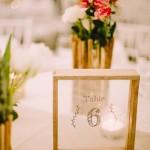 Mariage Ma Régisseuse wedding planner La Réunion décoration plan de table marqueur fleurs