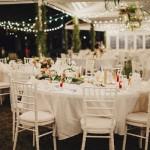 Mariage Ma Régisseuse wedding planner La Réunion décoration guirlandes épuré champêtre