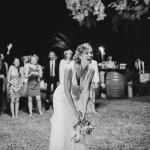 Mariage Ma Régisseuse wedding planner La Réunion lancer du bouquet tonneau mariée
