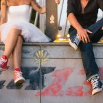Shooting inspiration mariage rock tatouages skate skatepark converse