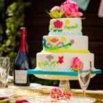 Shooting mariage mexicain sweet-table wedding-cake