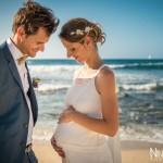 Mariage Réunion Ma Régisseuse wedding planner enceinte plage mer