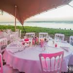 Mariage Réunion Ma Régisseuse wedding planner table décoration mer plage fleurs
