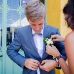 Mariage Réunion Ma Régisseuse wedding planner préparatifs de dernière minute costume marié