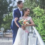 mariage, bouquet, robe,
