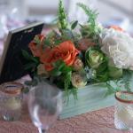 mariage, fleurs, décoration,