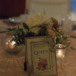 mariage, groupe, musique, décoration, plan de table,