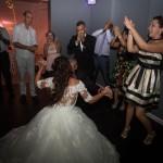 mariage, danse, fête, robe,