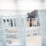 mariage, chaises, cérémonie,