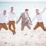 mariage, fun, plage, réunion,