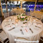 mariage, décoration, table, fleurs,