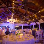 mariage, décoration, guirlande,
