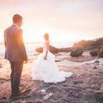 mariage, soleil, réunion, robe,