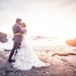 mariage, plage, robe, soleil, réunion,