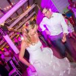mariage, fête, robe,