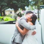 mariage, bonheur, couple, câlin, voile,