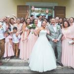 mariage, cérémonie, famille, amis, robe,