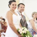 mariage, robe, bouquet,