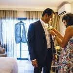 mariage, costume,