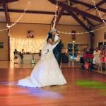 mariage, décoration, lumière, danse, robe,
